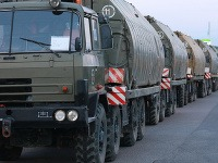 Presuny vojenskej techniky po Slovensku