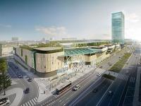 Vizualizácia novej autobusovej stanice.