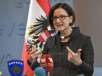 Rakúska ministerka vnútra Johanna Miklová-Leitnerová