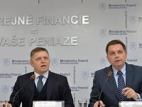 Robert Fico a Peter Kažimír