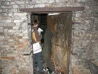 Vchod do zadnej miestnosti pivnice číslo 1