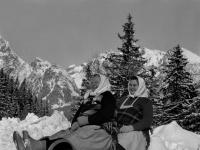 Tatranské rekreantky z roku 1965