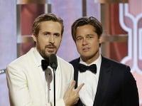 Tridsiatnik Ryan Gosling a pätdesiatnik Brad Pitt vyzerajú ako rovesníci.