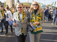 Rupert Murdoch a Jerry Hall