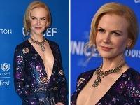 Nicole Kidman prekvapila šatami s odvážnym výstrihom.