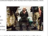 Miroslav Roháč bojuje na Ukrajine za proruských separatistov.