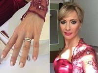 Daniela Šinkorová je už vydatá.