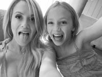 Za playmate Katie May najviac smúti jej dcérka Mia.