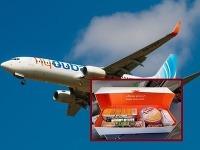 Ako to teda je s podávaním občerstvenia v lietadlách flydubai?