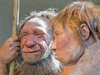 Rekonštrukcia neandertálskeho páru