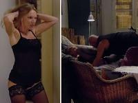 Andy Hryc a Anita Szvrscek ai strihli vášnivú scénu.