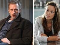 Hugh Laurie a Olivia Wilde sa stretli počas nakrúcania seriálu Dr. House.