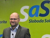 Predseda strany Sloboda a Solidarita Richard Sulík