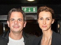 Herec Dano Dangl s manželkou Beátou.