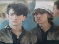 Roman Pikl (vpravo) sa v Discopříběhu objavoval po boku Rudolfa Hrušínskeho najmladšieho.