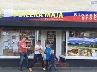 Slovenský obchod vo Warringtone
