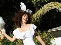 Lily Aldridge ako sexi zajačik.