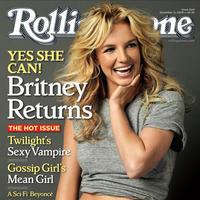 Usmievavá Britney Spears na titulke časopisu Rolingstone