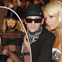 Britney, Benji a Paris