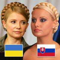Julia Tymošenková a Jana Mináriková