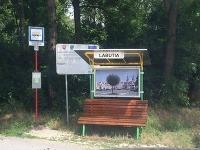 Malebná zastávka v žilinskej mestskej časti Vranie.