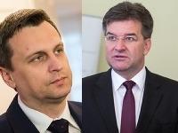 Adnrej Danko a Miroslav Lajčák