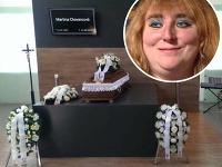 Dnes na poludnie začal pohreb Martinky z Turca.