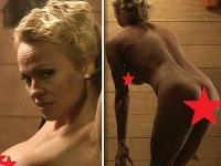 Pamela Anderson sa pred kamerami predviedla v plnej kráse.