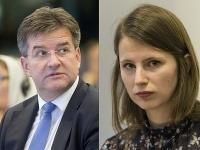 Miroslav Lajčák a Zuzana Hlávková