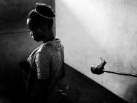 Kongo, Obeť sexuálneho násilia v MAGNA zdravotníckom centre v Kinshase, KDR.
