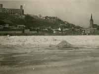 Zamrznutý Dunaj z roku 1929