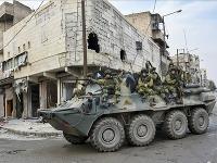 Ruskí vojaci v Sýrii