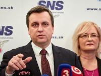 Šéf SNS Andrej Danko