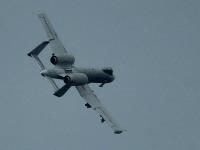 Podzvukové lietadlo A-10 Thunderbolt.