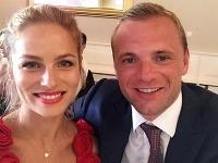 Ivana Surovcová a Marián Gáborík sú už manželia.
