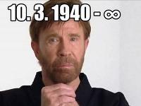 Chuck Norris je jednoducho neprekonateľný