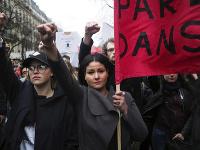 Protestov proti policajnej brutalite sa účastnilo okolo 7-tisíc ľudí.