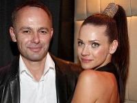 Modelka Andrea Verešová s manželom Danielom Volopichom