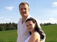 Robo Beňo s priateľkou Lenkou.