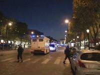 Streľba sa odohrala na bulvári Champs-Élysées v Paríži.
