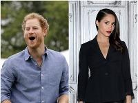Princ Harry a jeho vyvolená Meghan Markle.