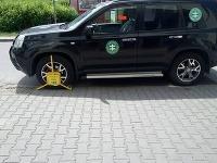 Auto s papučou