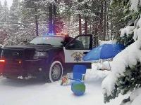 Západ Spojených štátov zasa prekvapilo sneženie
