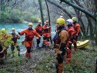 Ilustračné foto chorvátskych záchranárov.