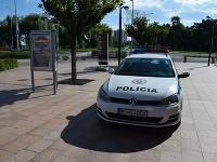 Jozef poškodil policajné auto