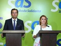 Ľubomír Galko a Natália Blahová