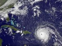 Satelitný záber hurikánu Irma