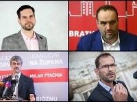 Bratislavskí kandidáti na župana.