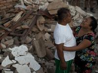 Spúšť po zemetrasení v Mexiku