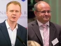 Miroslav Beblavý a Jozef Mihál chcú chrániť dôchodky.